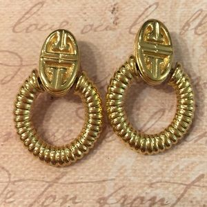 Vintage Givenchy Door Knocker Earrings